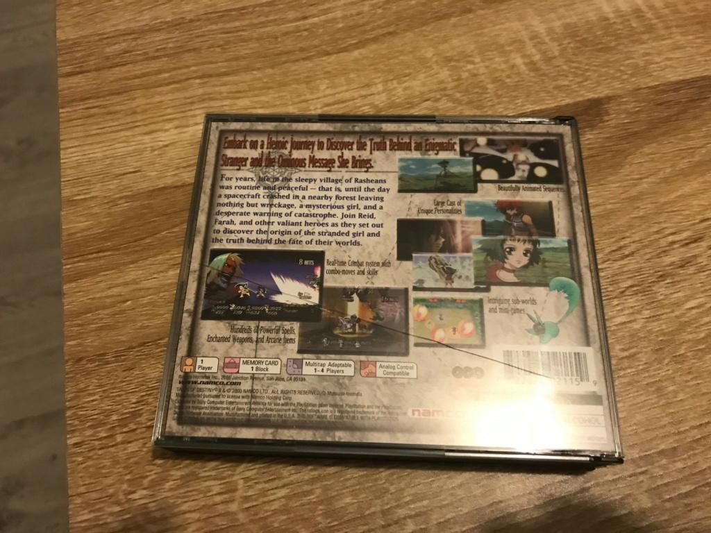 Vends 2 jeux PS1 US Tod210