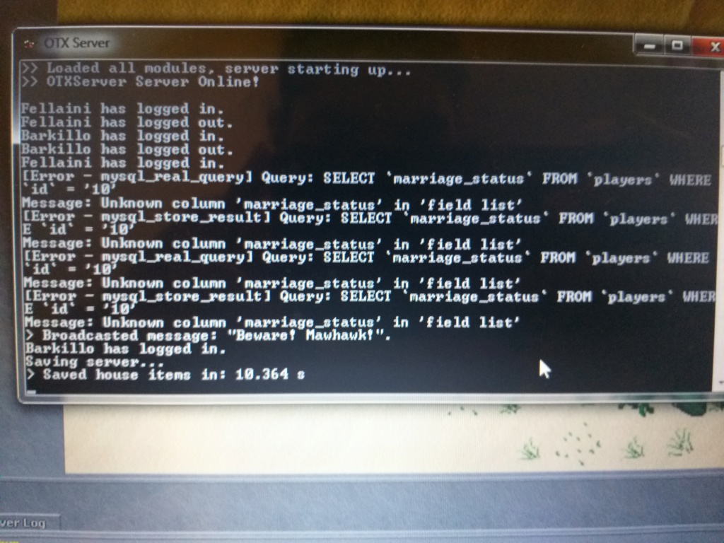 Error en mysql 20200412