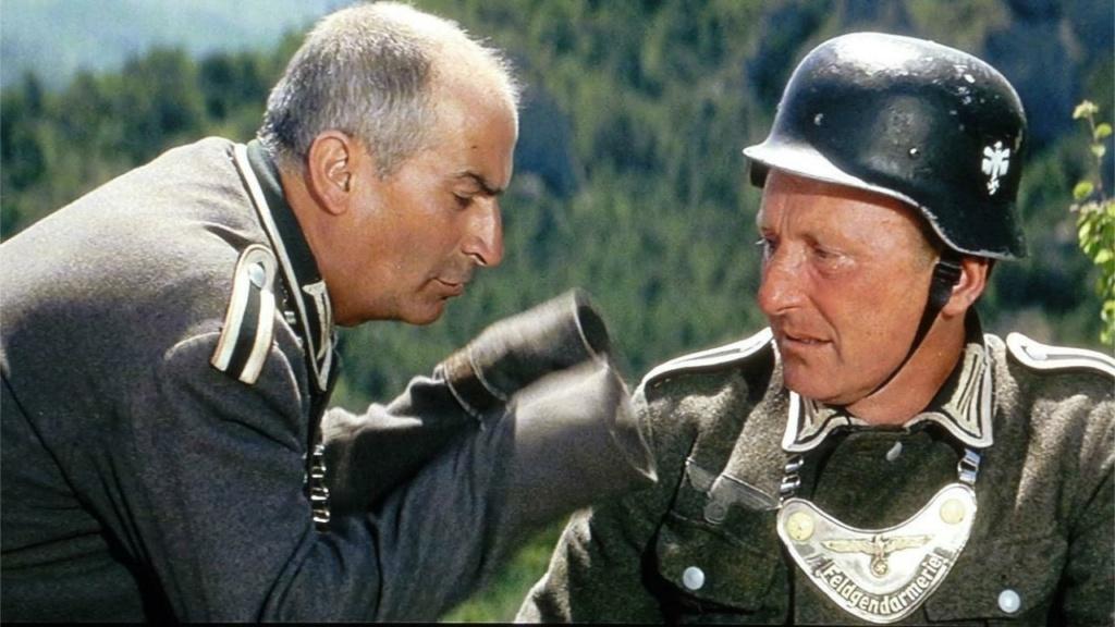 casques de Bourvil et de Louis de Funès dans la grande vadrouille Untitl10