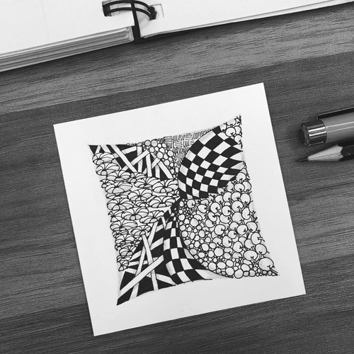 Zentangle | Anything is possible, one stroke at a time 210