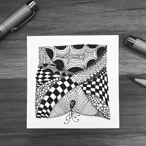 Zentangle | Anything is possible, one stroke at a time 310