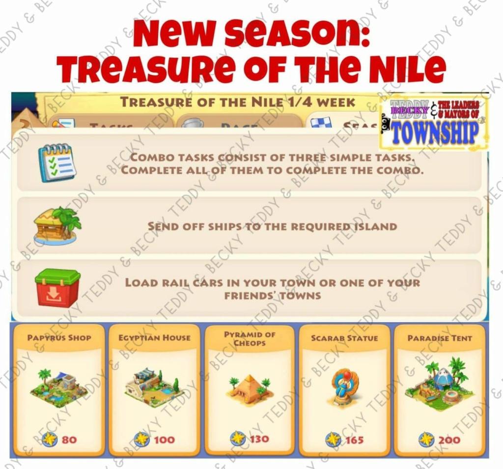 Regatta theme Treasure of the Nile - Ancient Egyptian Ton10