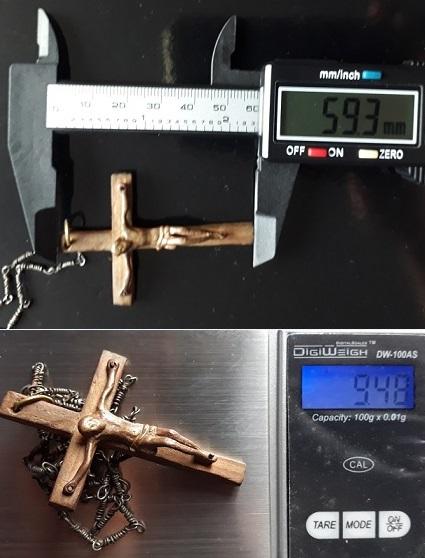 Identificar Crucifijo de madera y metal 20200718