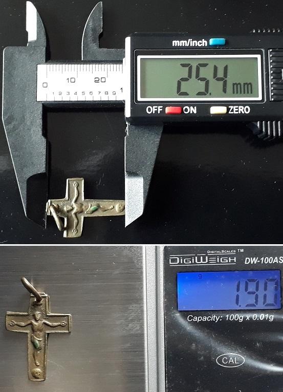 Identificar Crucifijo de bronce 20200723