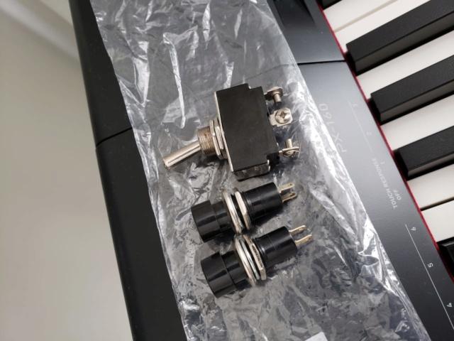 Substituição de potenciômetro por chave liga/desliga (toggle switch) C221fd10