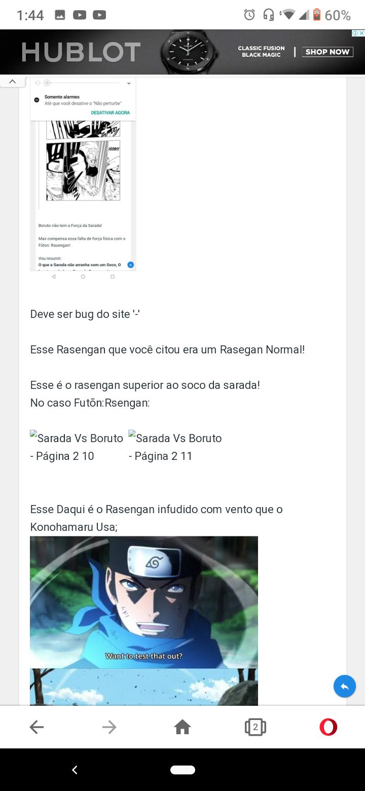 Sarada Vs Boruto - Página 2 Screen29