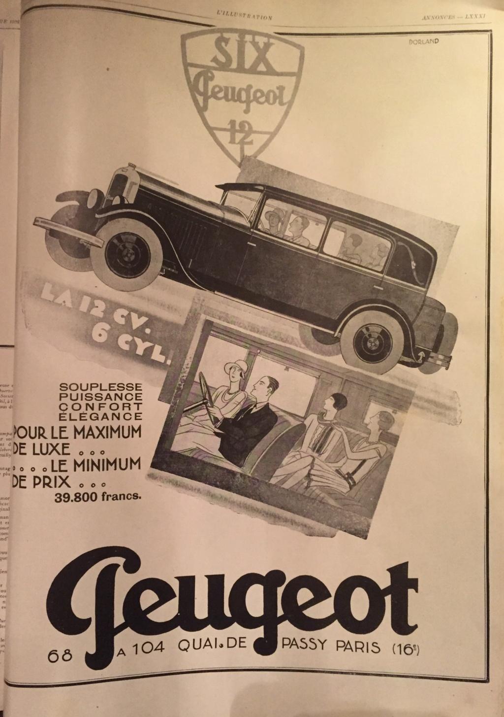 3 raisons d' acheter Peugeot   Publicité d'époque L-illu12
