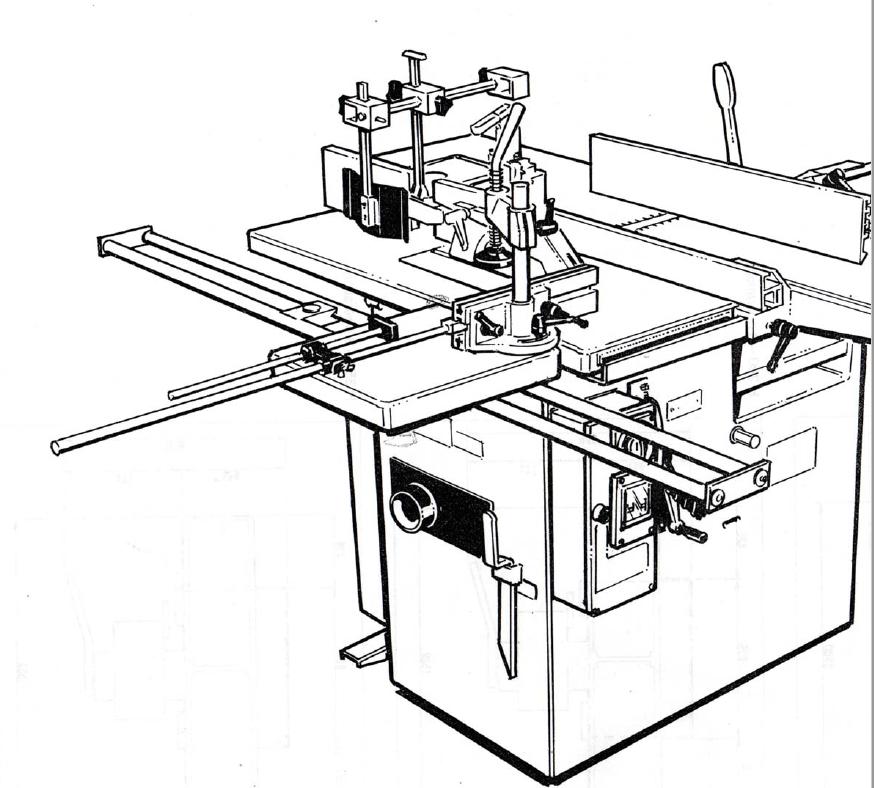 Machine combiné à bois occasion 2020-110