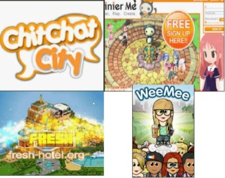 Ultimate - Chit Chat City , Tinierme , Fresh Habbo & Wee Mee