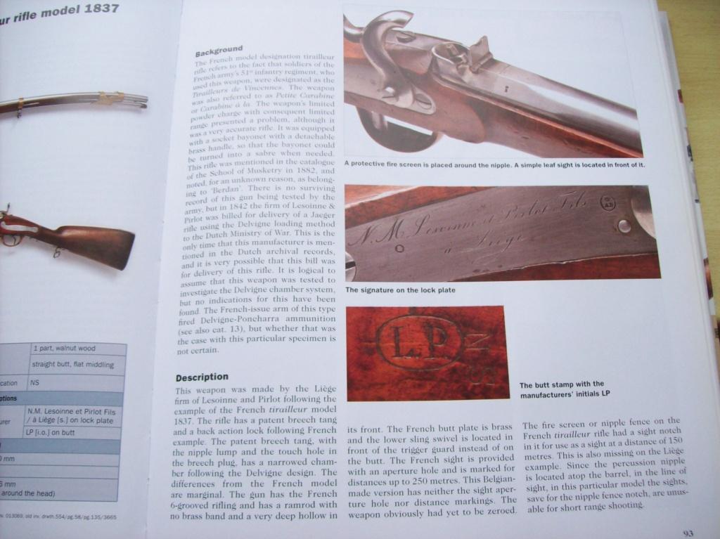 Belge Carabine de Tirailleurs de Vincennes 1837 100_3011