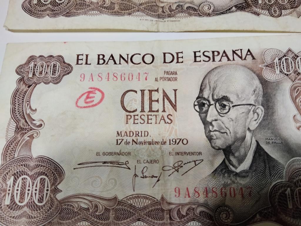 100 pesetas 1970 serie 9A - SERIES INTERESANTES DE LOS BILLETES DE 100 PST FALLA Img20214