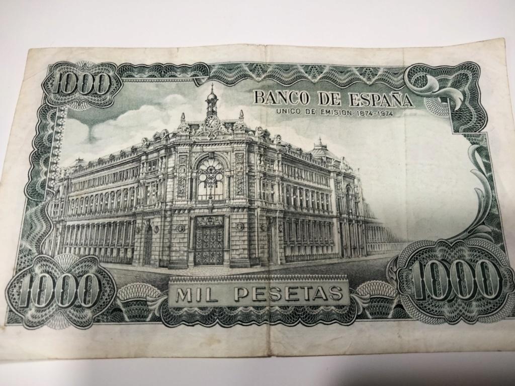 1000 Pesetas 1971 (QUE TAL ESTE, SE VE EN BUEN ESTADO?) Img20225