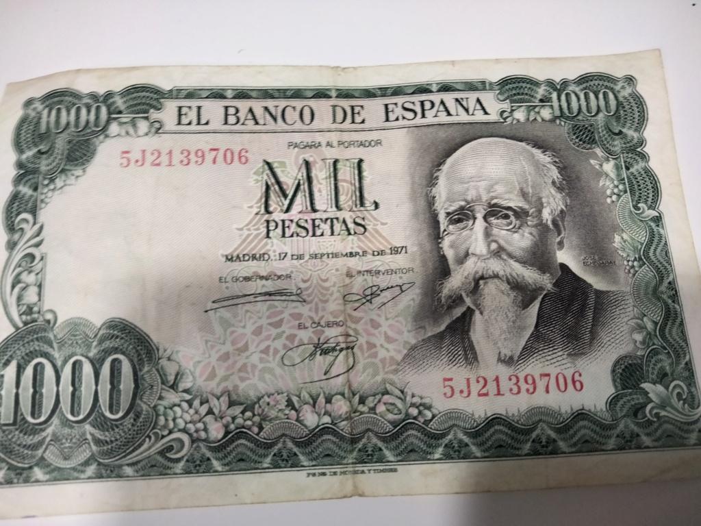 1000 Pesetas 1971 (QUE TAL ESTE, SE VE EN BUEN ESTADO?) Img20226