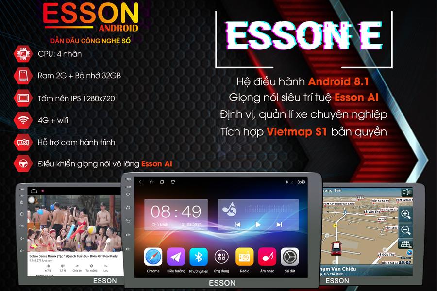 Màn hình dvd ô tô Esson  E10