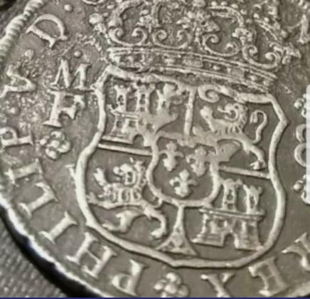 8 REALES COLUMNARIA 1741 AYUDA PARA AUTENTICIDAD  Moneda11