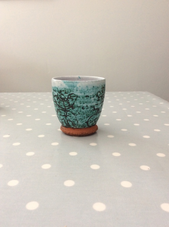 Small Patterned Pot with Odd Eye Mark Image17