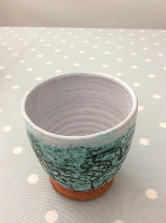 Small Patterned Pot with Odd Eye Mark Image18