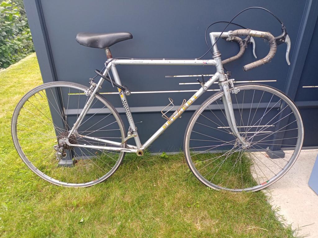 restauration d'un vélo peugeot à partir de deux vélos peugeot incomplets Img20226