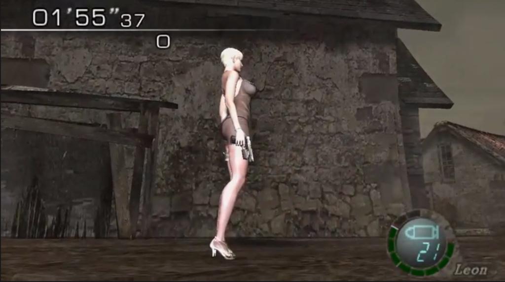 [Resuelto]Resident Evil 4 Sherry Birkin +18 mod (Mercenaries) 111