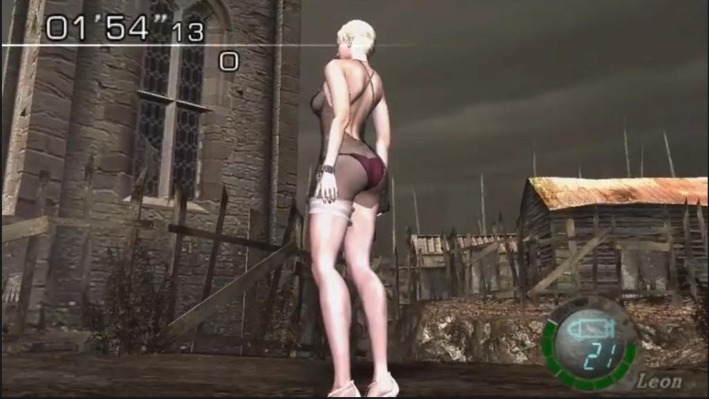 [Resuelto]Resident Evil 4 Sherry Birkin +18 mod (Mercenaries) 211