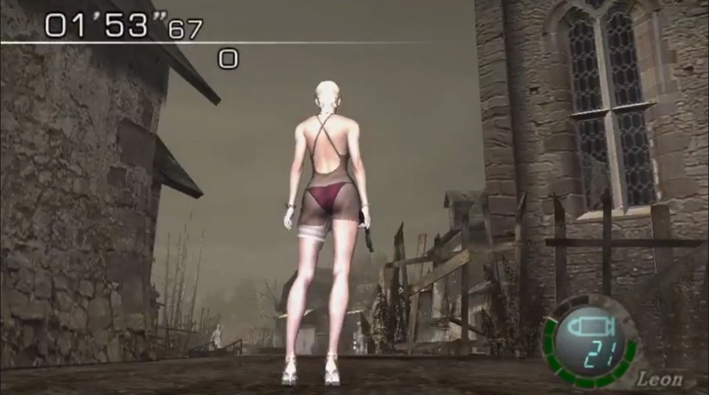 [Resuelto]Resident Evil 4 Sherry Birkin +18 mod (Mercenaries) 311