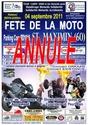 Fete de la moto a St Maximin (60) Affich16