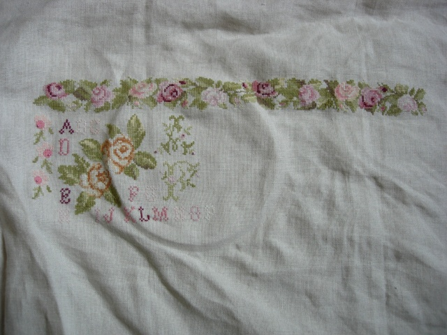 sampler abécédaire aux roses de dmc - Page 3 Dscn2556