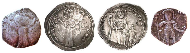 Miliaresion bizantino de Miguel VII, 1071-1078 d.C. Byzant10