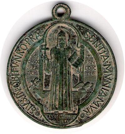 recopilación de medallas de San Benito Med-sa10