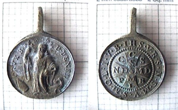 recopilación de medallas de San Benito San_be10