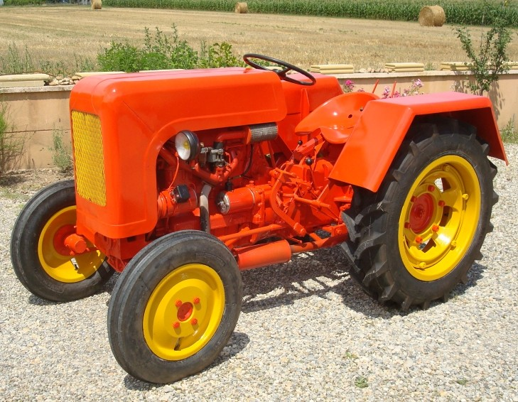 CITROËN -  Prototype de tracteur en 1919 500_re10