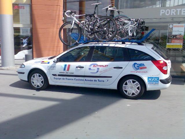 L'équipe de France cycliste de l'armée de Terre . Photo012