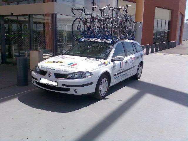 L'équipe de France cycliste de l'armée de Terre . Photo013