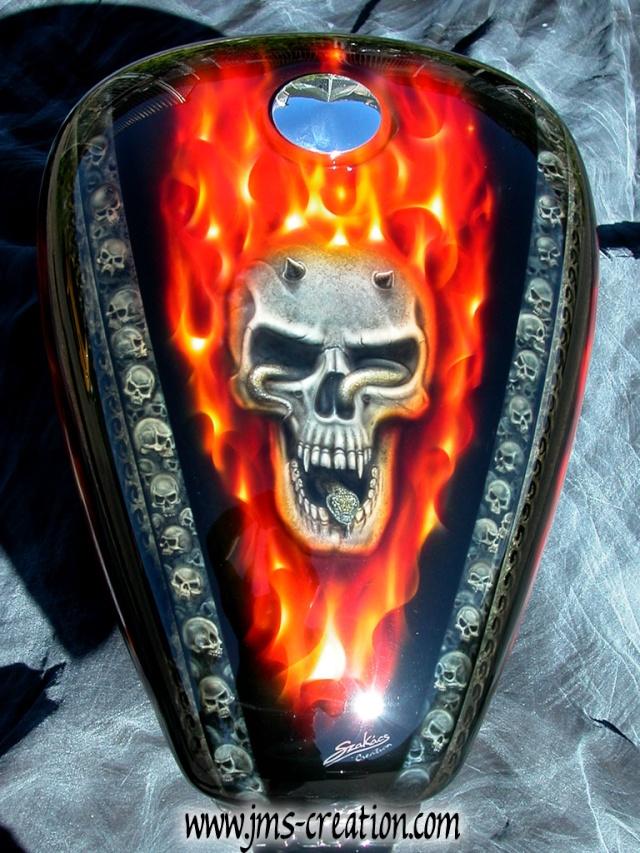 Ma meule. Skull-10