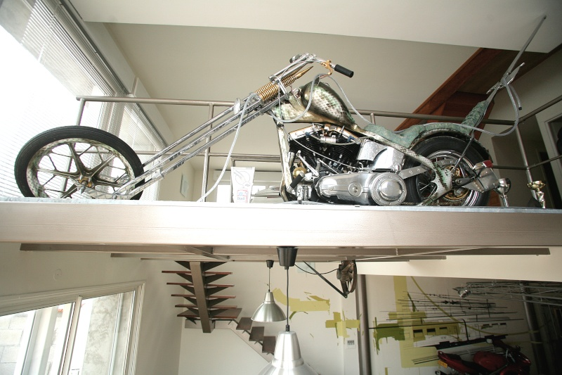 """Chopper """"THE PLAGUE"""" base Hydra glide 1955 (KAISER) Img_3512"""