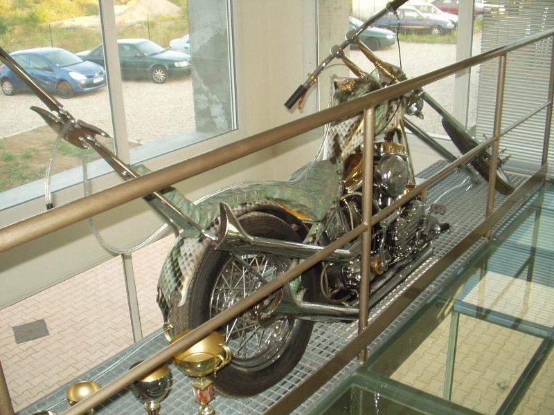 """Chopper """"THE PLAGUE"""" base Hydra glide 1955 (KAISER) Sons_o14"""