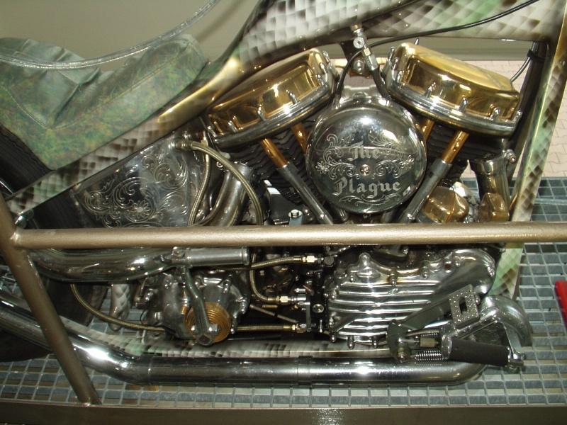"""Chopper """"THE PLAGUE"""" base Hydra glide 1955 (KAISER) Sons_o15"""