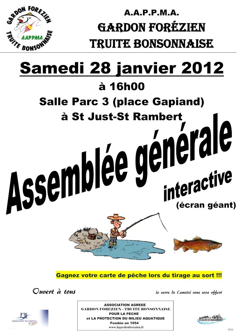 Assemblée Générale 2012 du Gardon Forézien Affich15