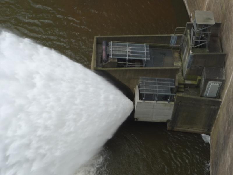 Abaissement décennale pour le barrage de Grangent Grange10