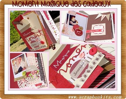 """Mini album """"moment magique des cadeaux"""" Moment11"""