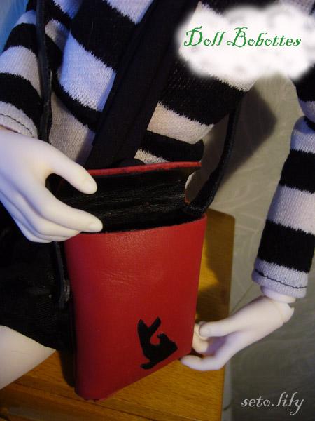 *Doll Bootsie, chaussures poupées* Tutoriel geta japonaise Besace11