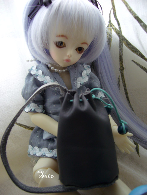 *Doll Bootsie, chaussures poupées* Tutoriel geta japonaise Sac-ma10