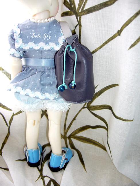 *Doll Bootsie, chaussures poupées* Tutoriel geta japonaise Sac-ma11