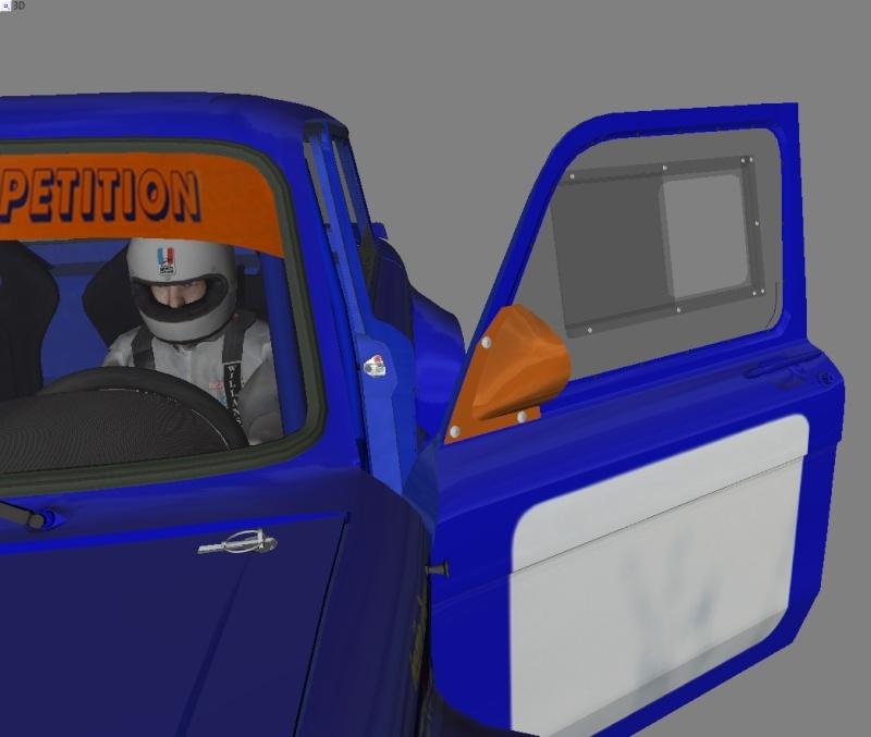 """[TERMINEE] SIMCA TURBO """"VONIC EDITION""""  reste les premiers tours de roues ! Ext_pk10"""