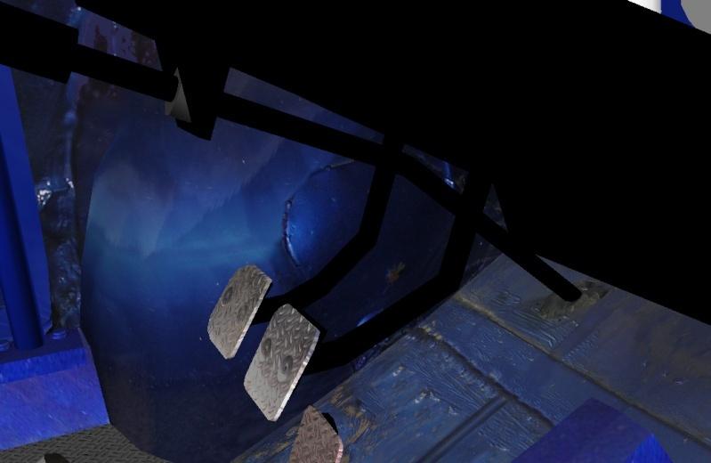 """[TERMINEE] SIMCA TURBO """"VONIC EDITION""""  reste les premiers tours de roues ! Pedal_10"""