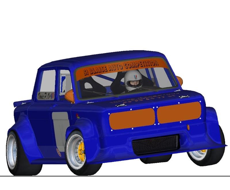 """[TERMINEE] SIMCA TURBO """"VONIC EDITION""""  reste les premiers tours de roues ! Traver10"""