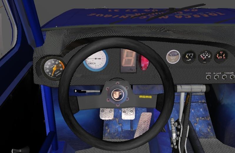 """[TERMINEE] SIMCA TURBO """"VONIC EDITION""""  reste les premiers tours de roues ! Volant10"""