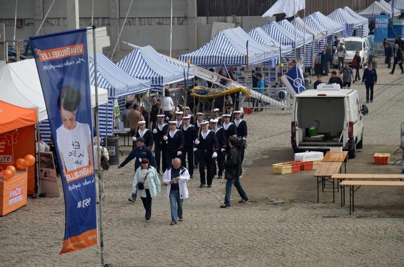 Le corps des torpilleurs aux port de Bruxelles.2012 12052010