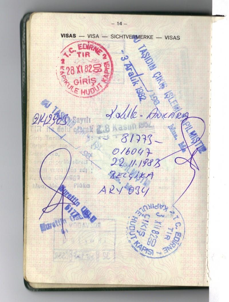 Les visa de nos passeports 18-10-11