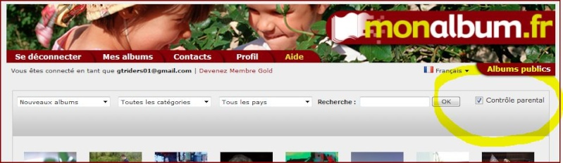 Monalbum.fr -> Contrôle parental - Important ! ... Captur34
